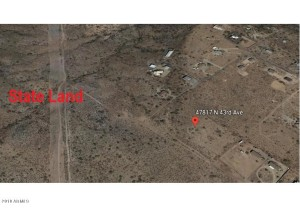 47817 N 43rd Avenue Lot - New River, Az 85087