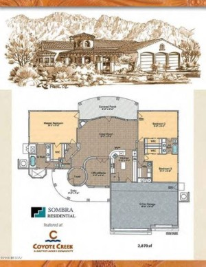 14842 E Diamond F Ranch To Be Built Place Vail, Az 85641