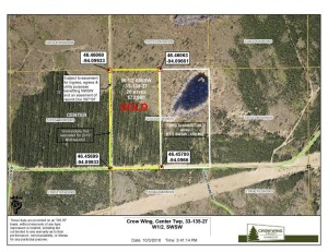 Tbd  Sorenson Lake Road Center Twp, Mn 56465