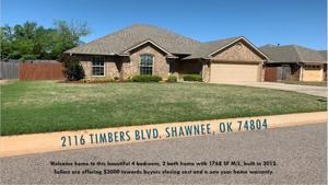 2116 Timbers Boulevard Shawnee, Ok 74804