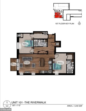 517 2nd Street Unit 101 Hudson, Wi 54016